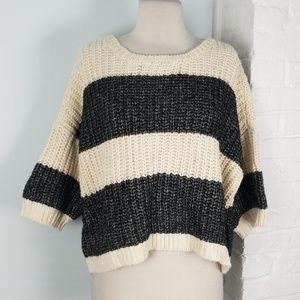 Victoria's Secret chunky striped sweater
